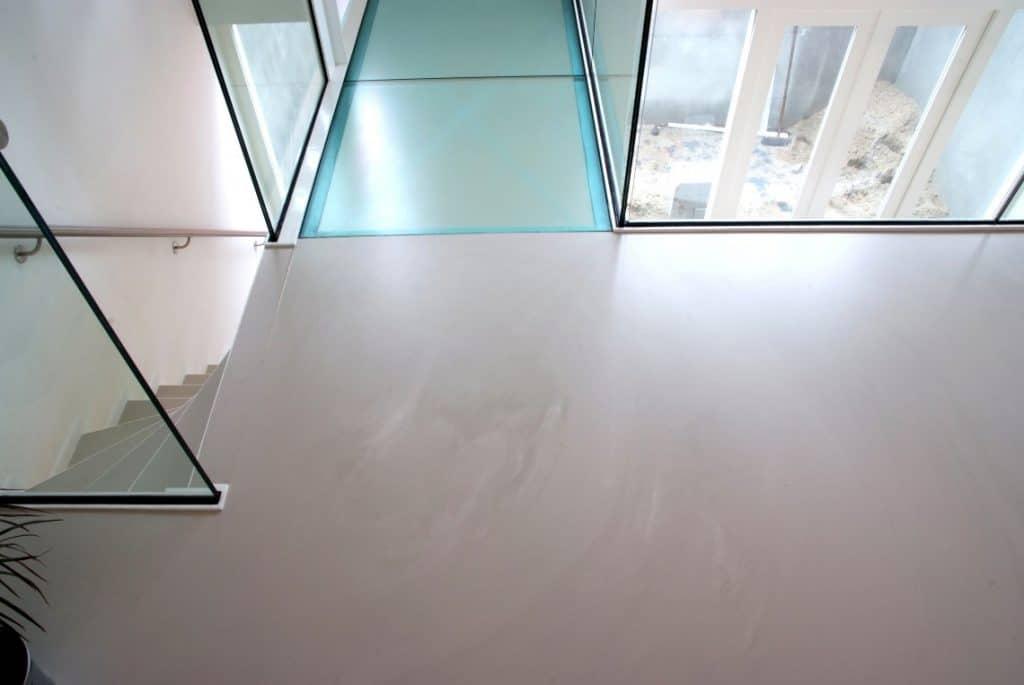goedkope betonlook vloer en een gietvloer