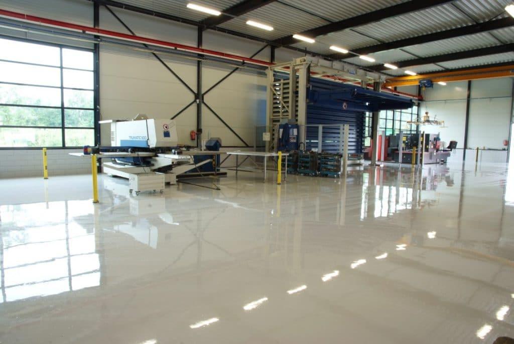 Het verschil tussen een goedkope epoxyvloer en een gietvloer